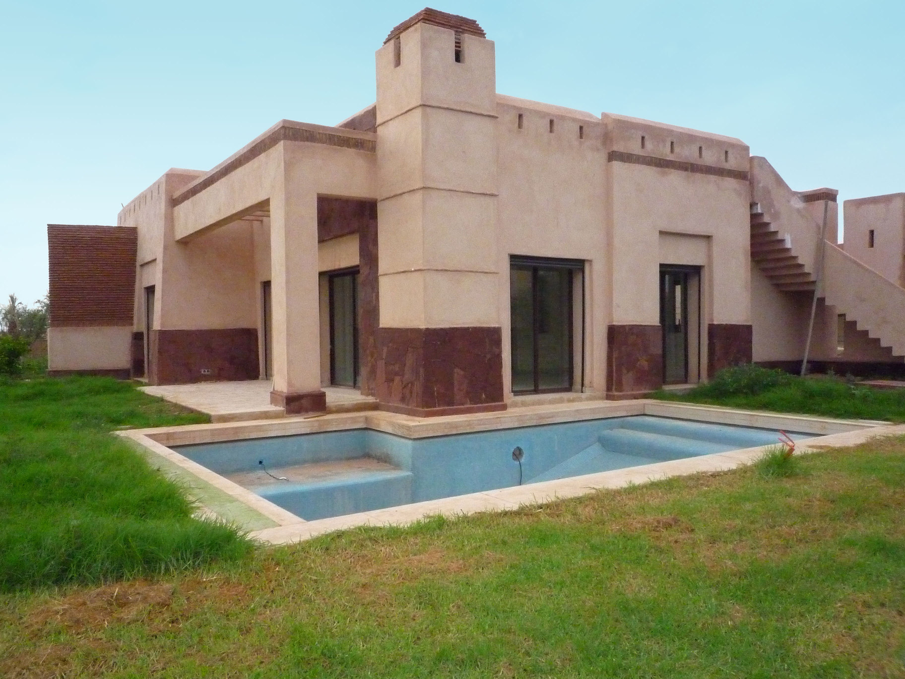Lp infographie paysag re for Construire une maison au maroc